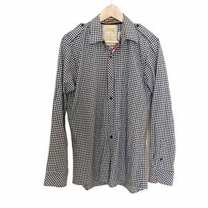 Sovereign Plaid Button Down Long Sleeve Shirt